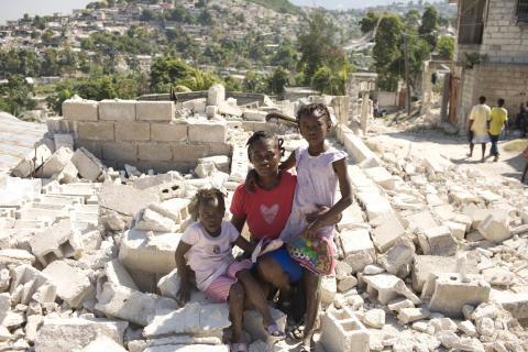 Alexis-familjen i Mariani, port-au-Prince