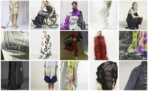 Examenskollektioner visas på Fashion Week i Stockholm