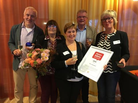 Östra Läkargruppen i Kristianstad utsedd till Skånes bästa vårdcentral 2016