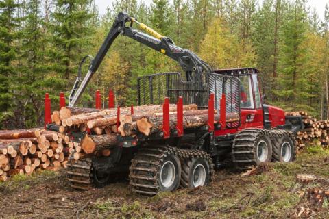 Komatsu Forest lanserar nytt flexibelt lastutrymme