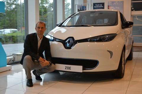 Uhørt billig privatleasing af elbilen Renault Zoe