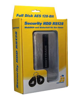 DIGITTRADE RS128 externe verschluesselte RFID Festplatte
