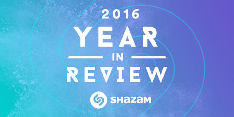 Shazam Announces Annual Emerging Artists List and the Most Shazamed Tracks of 2016