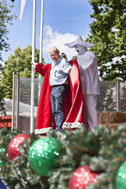 Claus Bue hædres som åresjulemand 2016