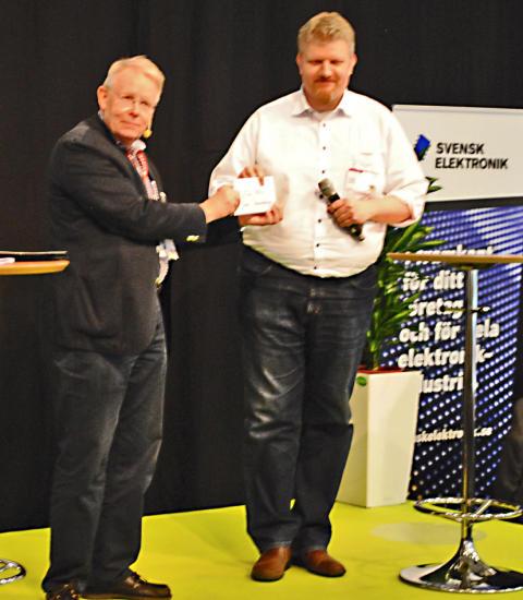 Mästerlig lödning av Joakim Värnberg på S.E.E.2016