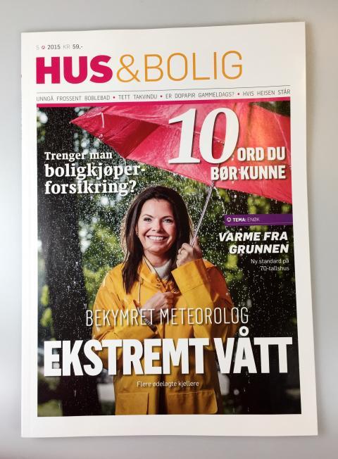 Hus & Bolig er eneste blant magasiner og aviser som øker