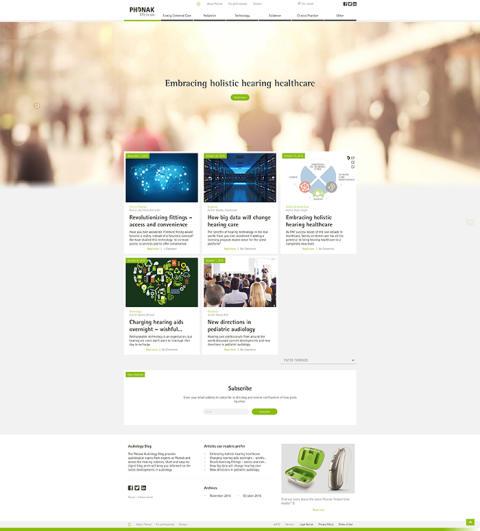 Phonak lanserar audiologi-blogg