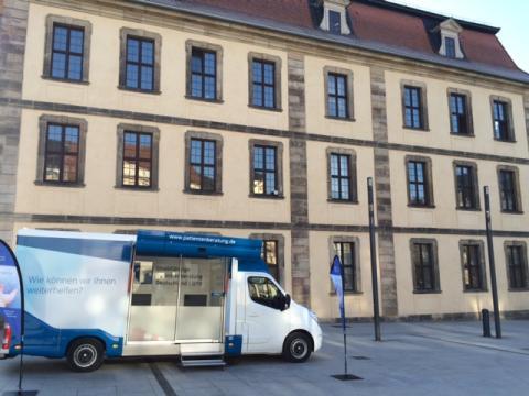Beratungsmobil der Unabhängigen Patientenberatung kommt am 17. Mai nach Fulda.