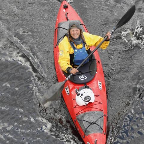 Nominerad Årets äventyrare - Frida Benedikt