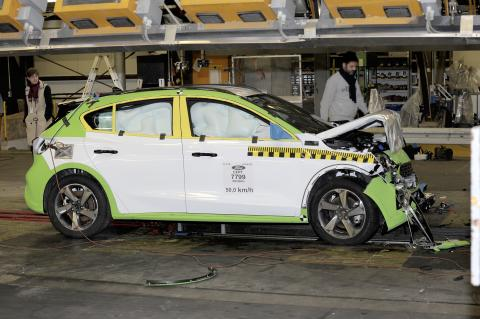 Focus Crash test