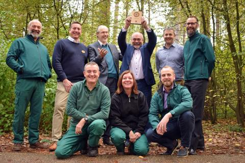 Center Parcs celebrates a decade being recognised with The Wildlife Trusts Biodiversity Benchmark