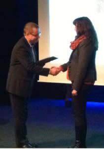 Sarah Gotthold Arctic Business Incubator årets Connect Norr ambassadör