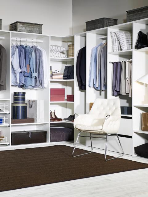 Skapa ett personligt dressing room.