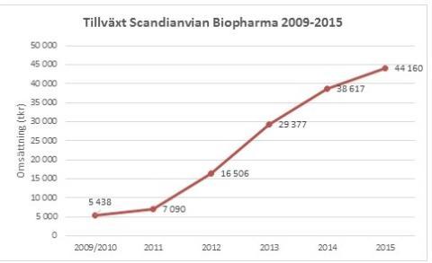 Tillväxt 2009-2015 SB