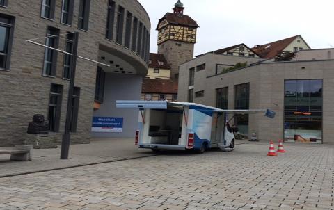Beratungsmobil der Unabhängigen Patientenberatung kommt am 7. Februar nach Schwäbisch Hall.