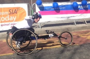 Justin Levene secures his first marathon win