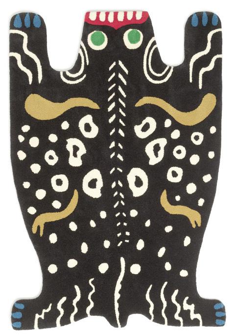 Carpet ''Nr 19'' by Josef Frank, nicknamed ''The monster carpet''