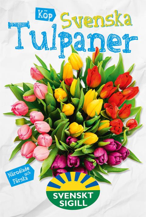 Svenska Tulpaner utomhuskampanj 2015