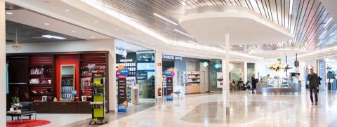 SkyBridge på Arlanda får större utbud