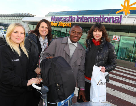 Ghana TV show winner heads for Northumbria