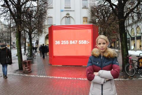 M: synliggör Socialdemokraternas skuldsättning av stockholmarna