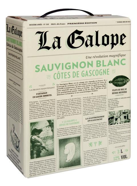 La Galope vinner mark -  fler butiker tar in vinet på hyllan