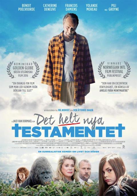 """Lindesbergs Filmstudio presenterar """"Det helt nya testamentet"""""""