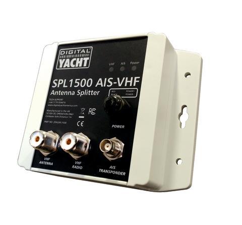 SPL1500 répartiteur d'antenne VHF de Digital Yacht pour faciliter l'installation des produits AIS