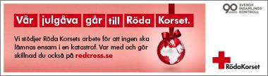 Empower sprider julglädje via Röda korset
