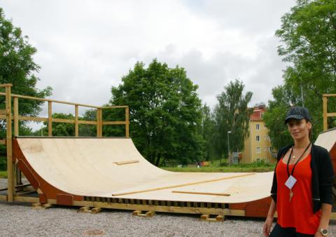 Skateboardramper invigs på Mötesplats Tureborg och Svenskholmen
