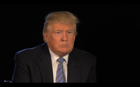 Ansigt til Ansigt med: Donald trump