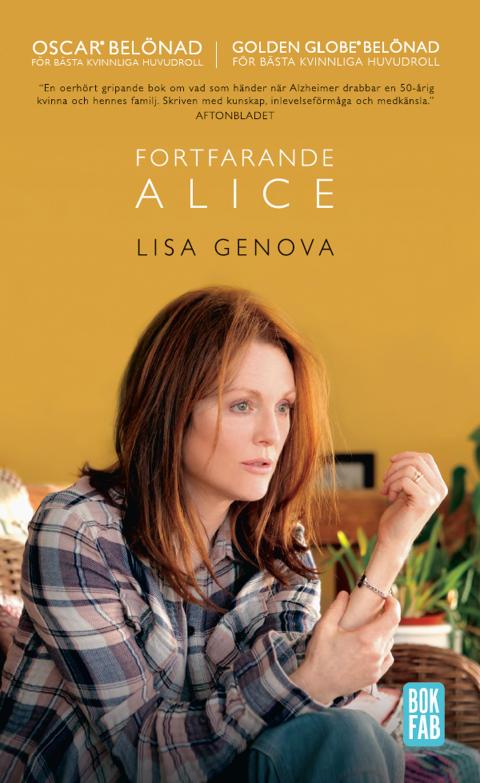 Fortfarande Alice av Lisa Genova nu som pocket på Bokfabriken