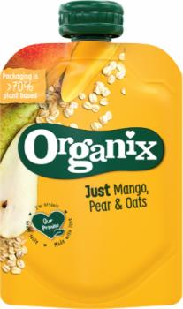 Organix just mango pear and oats