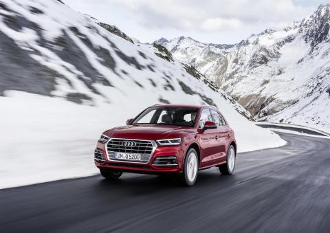En framgångssaga med åtta miljoner Audi quattro