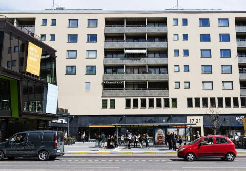 Bonnier Fastigheter säljer bostäder vid Hornstull