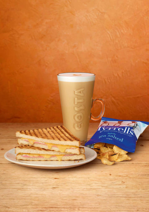 ​COSTA COFFEE INTRODUCES FIRST EVER LUNCH TIME MEAL DEAL
