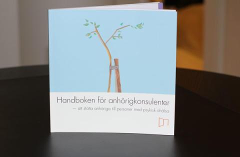 Release av handbok för anhörigkonsulenter