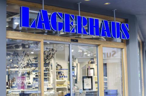 Lagerhaus öppnar i Bromma Blocks