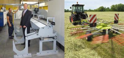 Hypermoderna maskiner breddar fjäderutbudet till jordbrukssektorn