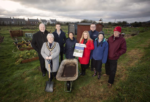 Funding boost ensures appeal of Greenisland Allotments continues to grow in 2020