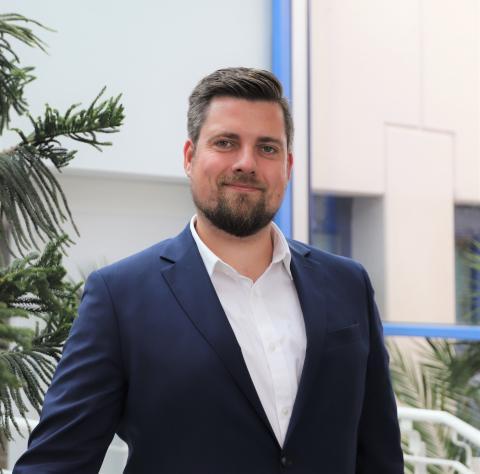 Leder av Canon Business Center i Bergen, Christian Sørensen