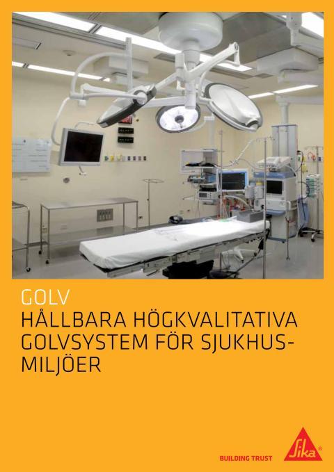 Sika Golvsystem för sjukhus