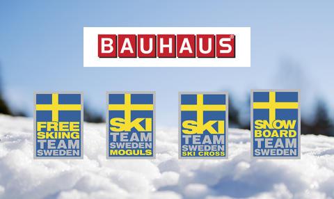 Svenska Skidförbundet och BAUHAUS utökar sitt partnerskap