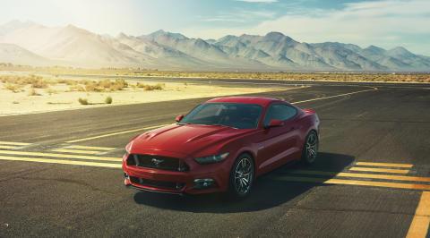 Ny Ford Mustang vises frem i Paris