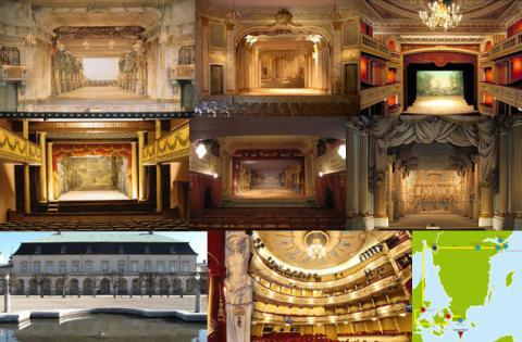 Pressresa historiska teatrar