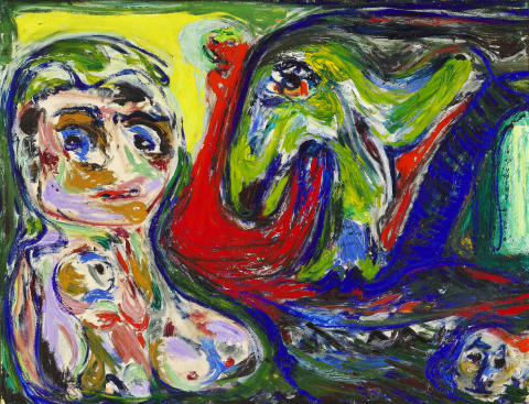 "Asger Jorn: ""Maternitet"" (Motherhood)"