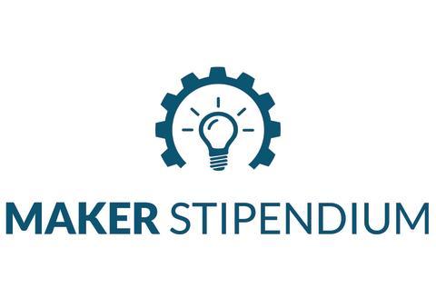 Maker_Stipendium_blau-auf-weiß