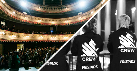 Fristads klär upp Göteborg Filmfestivals volontärer