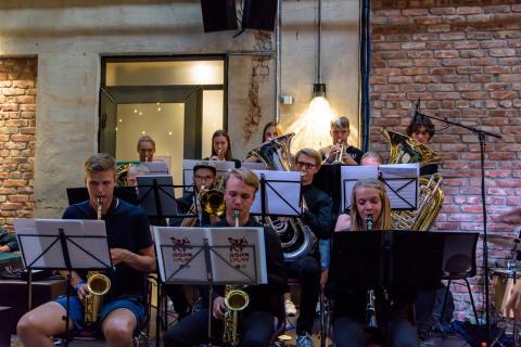 Buskerud og Vestfold ungdomsstorband 160817 Oslo Jazzfestival