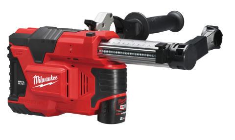 Milwaukee M12 DE hammerstøvsuger